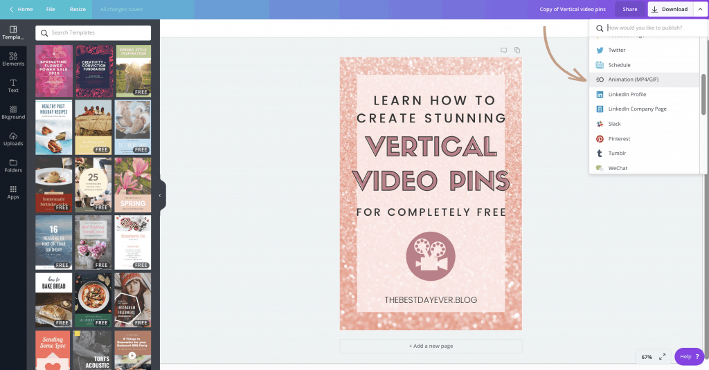 Pinterest is encouraging users to post video pins, but do you even know how? Find out how simple it is to make vertical video pins for completely FREE!