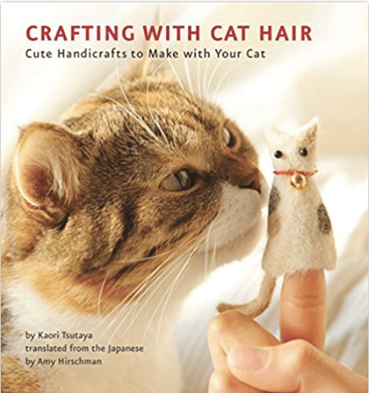 A book that teaches you how to craft with cat hair? Yes, please! You have to check out these 25 incredibly bizarre Amazon products for sale on the mega-website.