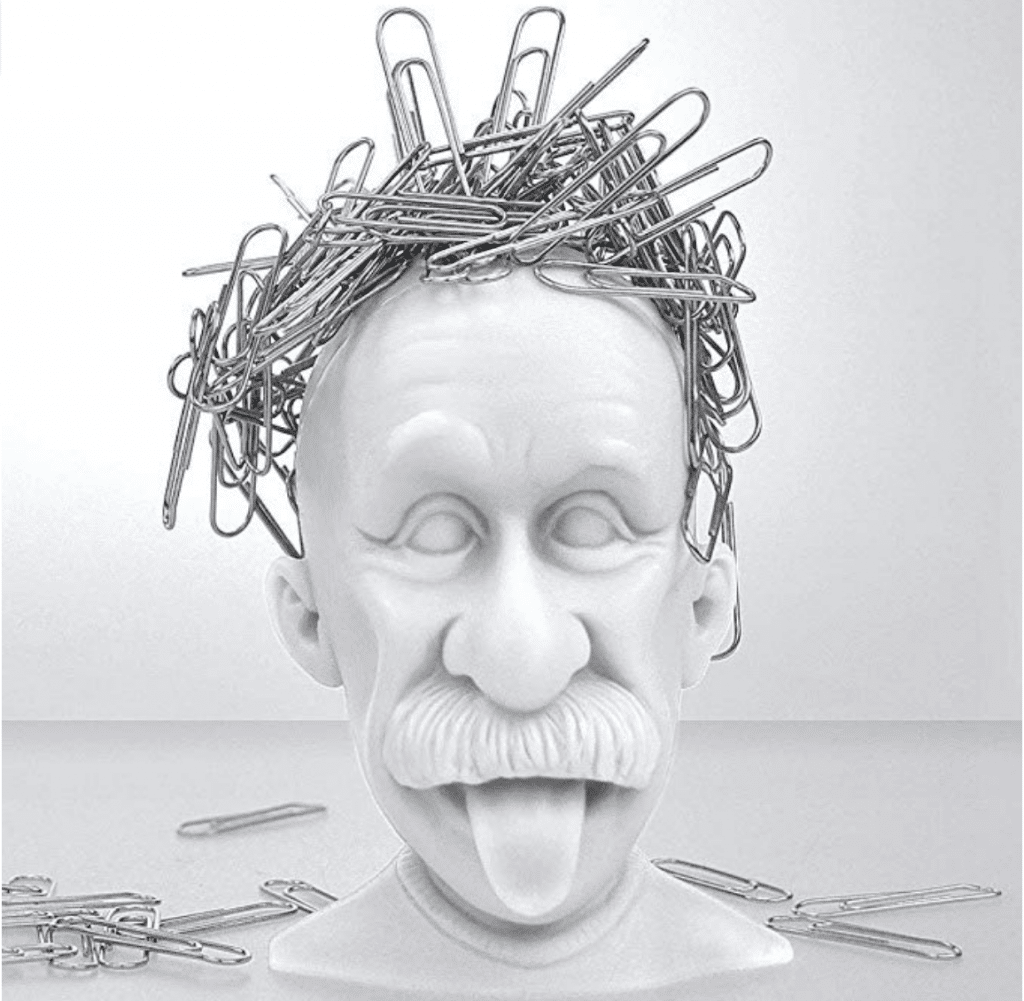 An Albert Einstein paperclip holder? Yes, please! You have to check out these 25 incredibly bizarre Amazon products for sale on the mega-website.