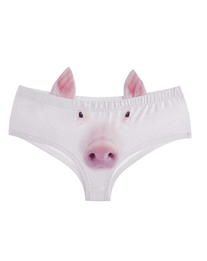 Pig face underwear? Yes, please! You have to check out these 25 incredibly bizarre Amazon products for sale on the mega-website.
