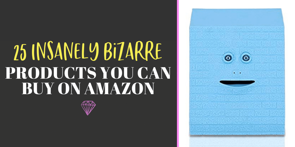 Fake skin you can squeeze fake pimples from? Yes, please! You have to check out these 25 incredibly bizarre Amazon products for sale on the mega-website.
