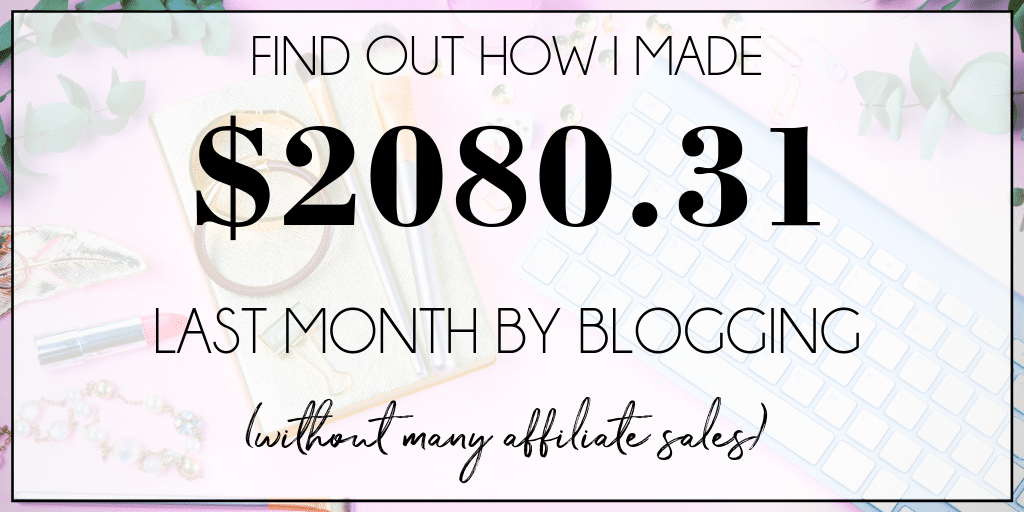 Did you know that it was possible to make a living from blogging? See the exact steps I took to make over $2,000 last month and find out how you can too...